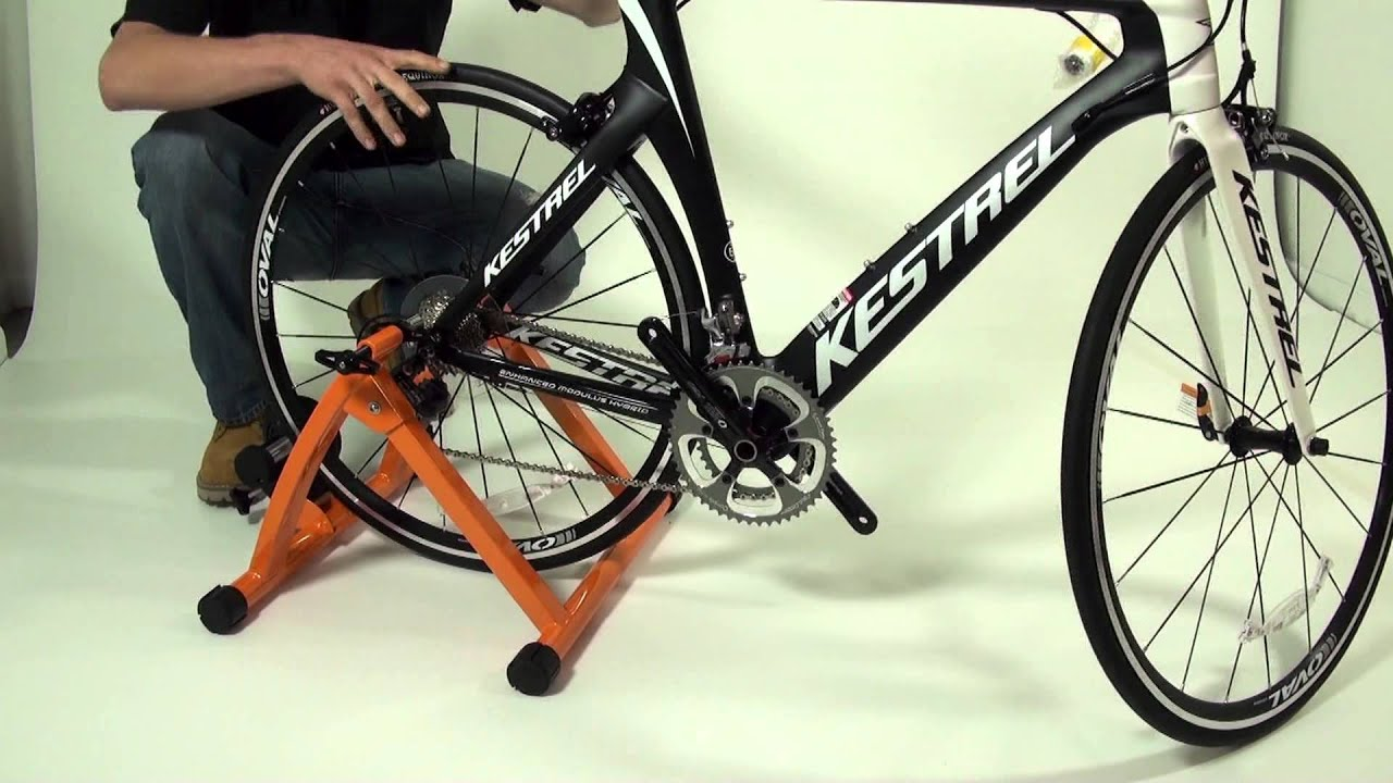 how to assemble and setup the conquer cycling trainer. Black Bedroom Furniture Sets. Home Design Ideas