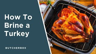 ButcherBox's Thanksgiving Turkey with Apple Cider Brine