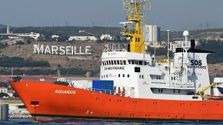 French port of Sete offers to accept stranded migrant rescue vessel