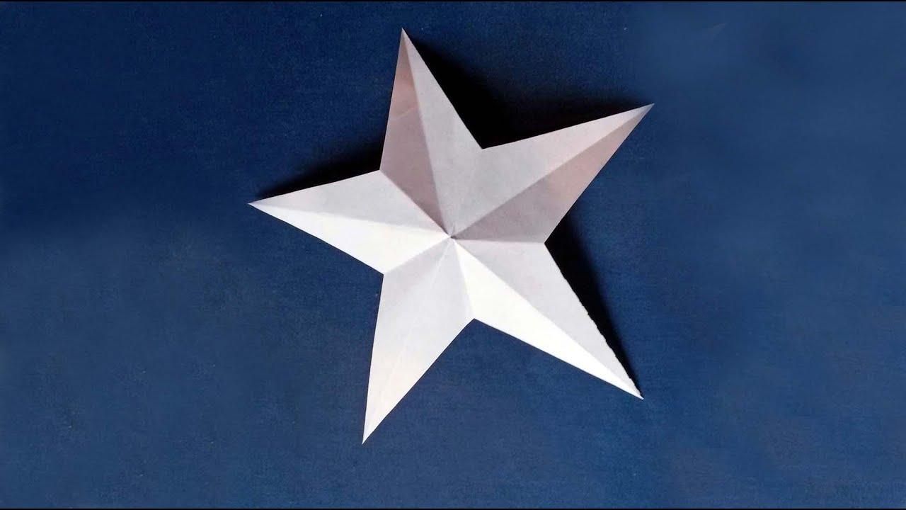 Estrellas de papel origami manualidades para ni os - Manualidades para ninos faciles ...