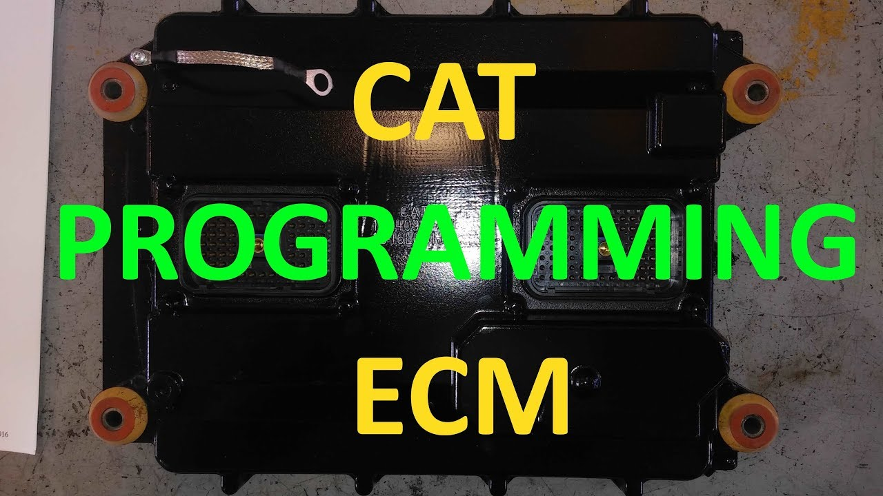 How To Program A Cat ECM  How To Flash A Cat ECM  Cat Computer Programming