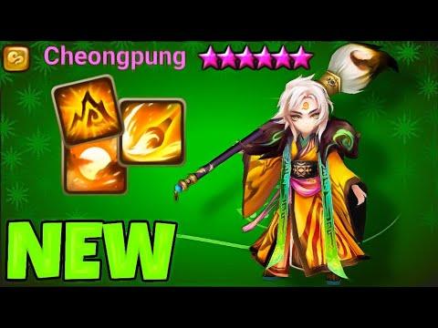 The NEW CHEONGPUNG Wind Art Master In RTA! - Summoners War