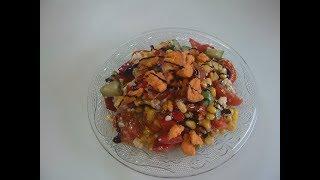 Салат с кукурузой Маринкины творинки