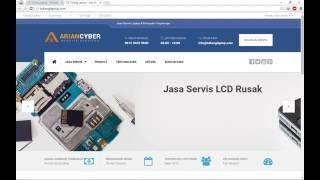 Jasa Website Murah - Tutorial Web Tukang Laptop Jakarta
