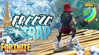Fortnite Moments | Eiffel Tower & NEW Chiller Trap Gives You Icy Feet! Fortnite Twitch Funny Moments