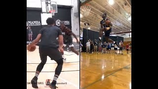 Jahlil Okafor and Zion Willamson putting in that extra work