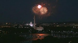 4th of July Fireworks in Washington DC & New York City - no comment