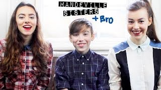 Meet our Baby Brother | Mandeville Sisters