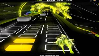 Repeat youtube video Audiosurf - Skrillex Bangarang
