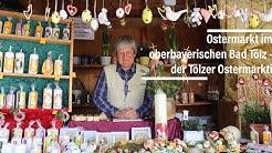 Ostermarkt im oberbayerischen Bad Tölz - der Tölzer Ostermarkt