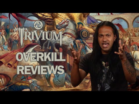 TRIVIUM In The Court Of The Dragon Album Review   Overkill Reviews