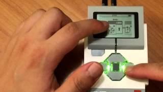 Lego Mindstorms EV3 Robotics Lesson 3 - On-brick programming - Move block / Wait for x seconds block