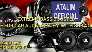 Tom and The Limits - You're So Blue and Rainbow Extreme Bass Boosted [ atalim official ]
