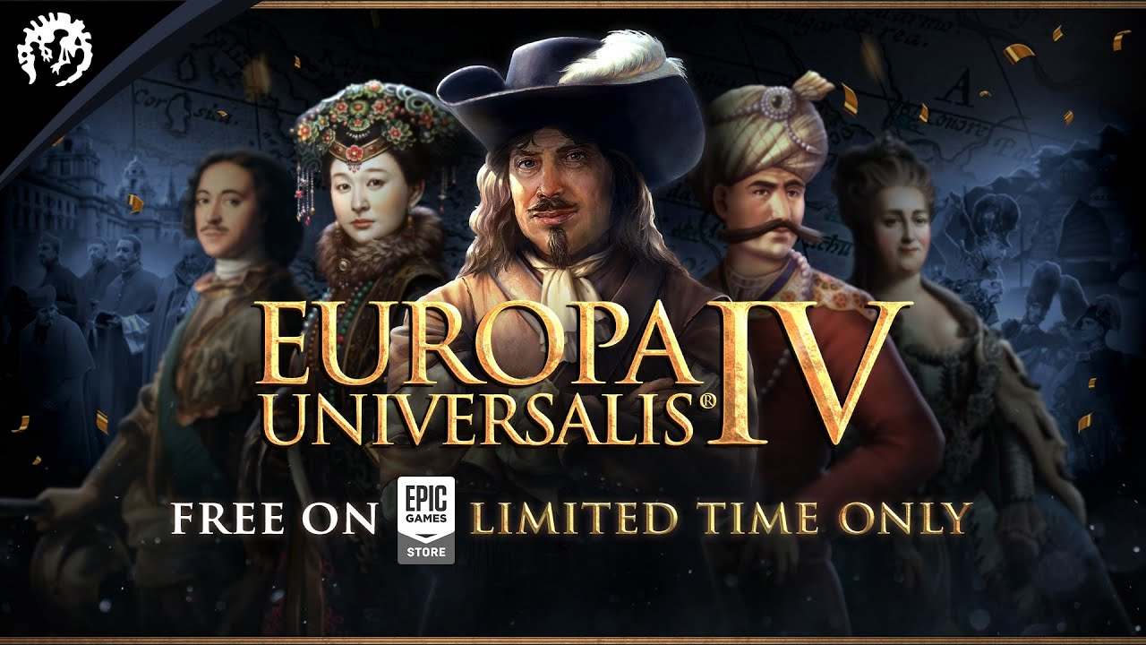 Get Europa Universalis IV for FREE on Epic Games Store