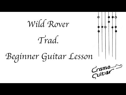 Wild Rover - Trad. Guitar Lesson