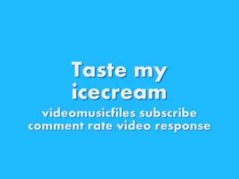 taste my cream
