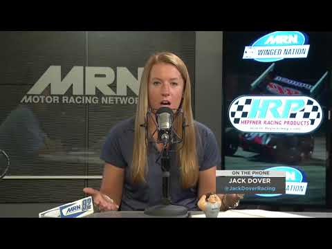 Jack Dover joins Steve Post and Erin Evernham to talk about the Jackson Motorplex 360 Nationals. - dirt track racing video image