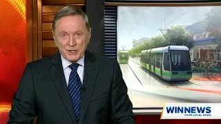 2018   PTCBR Official launch of Canberras CAF Urbos light rail vehicles