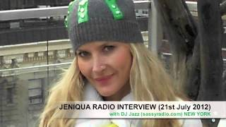 Jeniqua Interview with DJ Jazz New York (21st July 2012)
