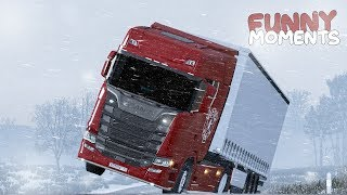 Euro Truck Simulator 2 Multiplayer Funny Moments & Crash Compilation #110 (ETS2MP)