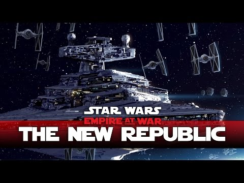New Republic -Target The Imperial Star Destroyer! - Thrawns Revenge - Ep3- (Star Wars RTS Lets Play)