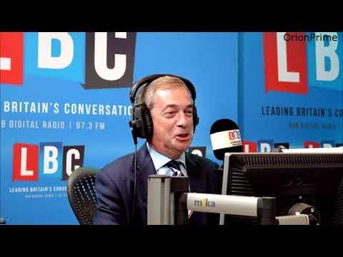 The Nigel Farage Show: Las Vegas. Live from Strasbourg LBC - 2nd October 2017
