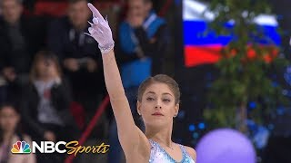 Kostornaia leads after terrific short program in Grenoble   NBC Sports