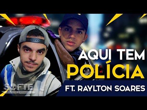 AQUI TEM POLÍCIA FT. RAYLTON SOARES (Fortnite Battle Royale Grátis) | [PT-BR] - Softe