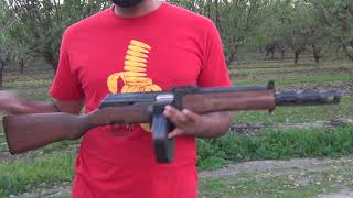 Commie Tommie THE 9MM AK TOMMY GUN!