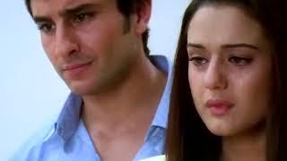 lagu india sedih banget - TERE BINA -  video (Kal Ho Naa Ho)