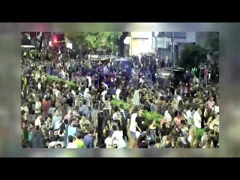 Fiesta de la Cerveza: tras el cierre hubo cruces con policías