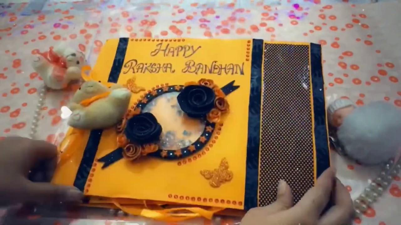 rakhi scrapbook  raksha bandhan album  raksha bandhan