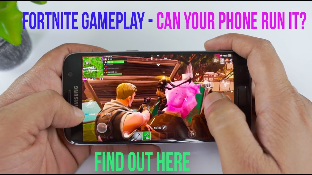 Fortnite Android Gameplay Supported Mobiles Minimum Specs To Play Download