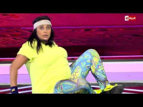 فيديو سكتش هبة رحال الست المصرية في البيت HD نجم الكوميديا