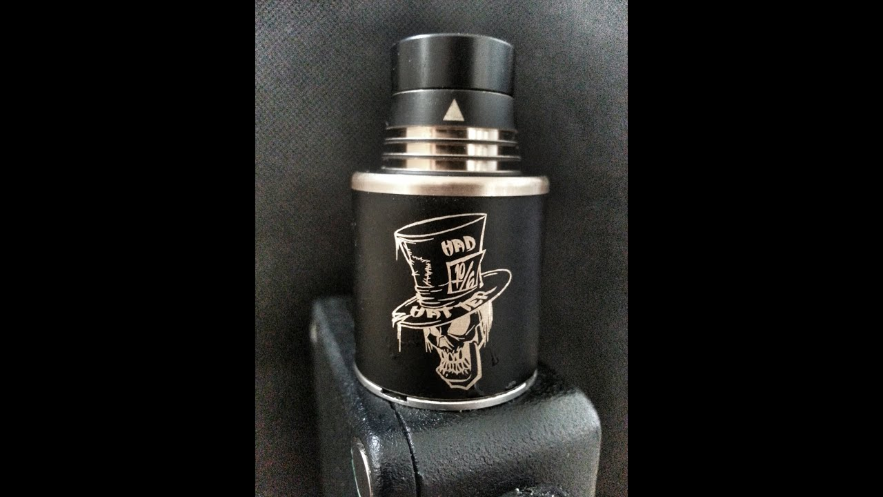 Mad Hatter Rdta By Advken - Giveaway - Mike Vapes - YouTube