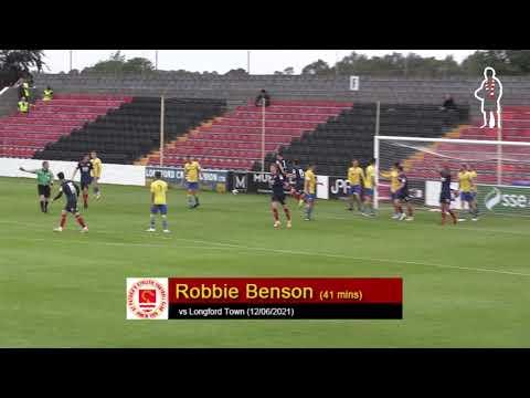 Goal: Robbie Benson (vs Longford Town 12/06/21)