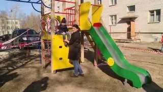 Военная детская площадка