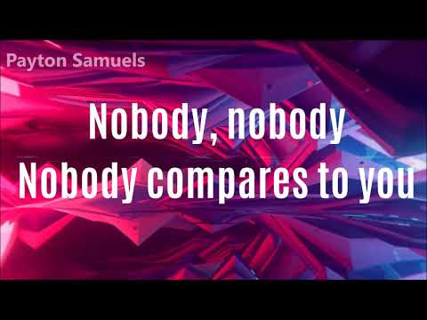 Gryffin - Nobody Compares To You (Lyrics Video) ft. Katie Pearlman