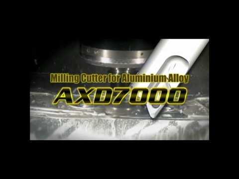 Mitsubishi Materials AXD7000 Mills for High Efficiency Aluminum Milling