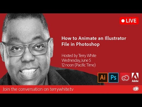 How To Animate An Illustrator File In Photoshop