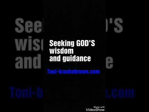 Scripture/prayer     Seeking GOD'S wisdom and guidance