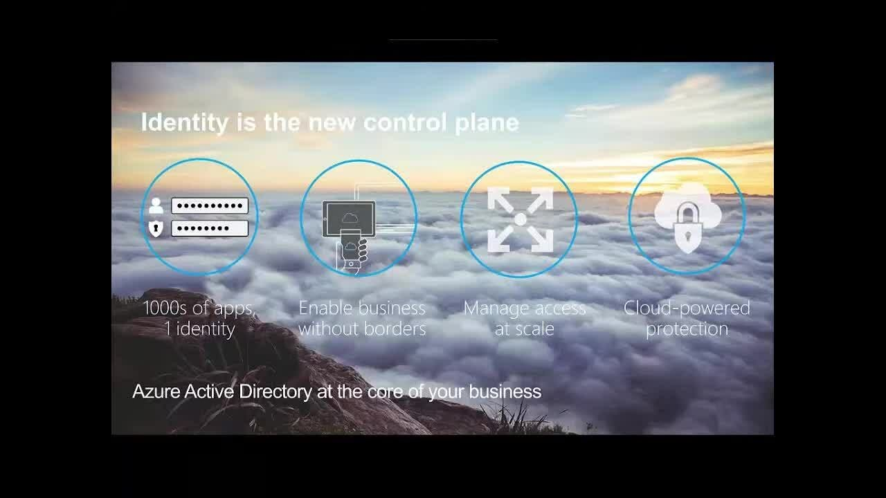 webinar the power of identity and microsoft azure active directory