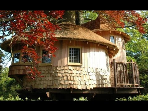 Blueforest's Fairy Tale Castle is an Enchanted Treehouse Hideaway