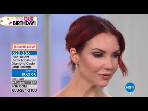 HSN | Ever Brilliant Lab Grown Diamonds Premiere 07.17.2018 - 02 AM