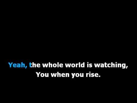 Within Temptation ft. Piotr Rogucki - Whole World is Watching (Lyrics)