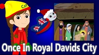 Once In Royal David's City | Christmas Songs For Children | British Kids Songs Xmas Series