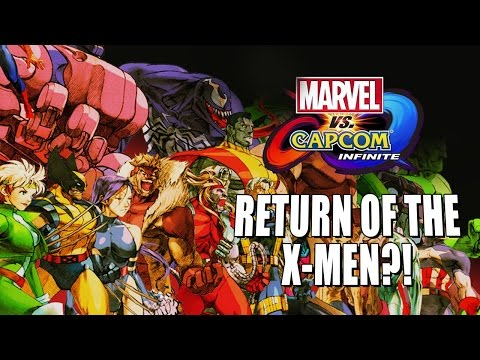 X-MEN CAN RETURN?! My Top 5 Returning X-Men (Marvel Vs. Capcom Infinite)