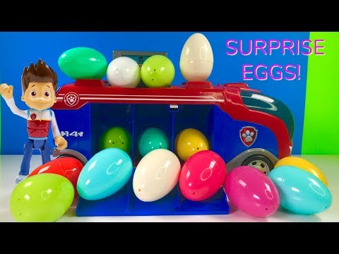 Thumbnail: Learn Colors with Paw Patrol Mission Surprise Eggs Learning for Kids & Children | Fizzy Fun Toys