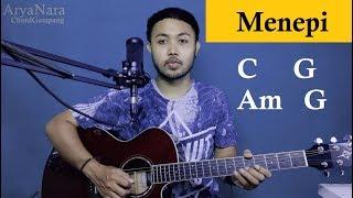 Download Lagu Chord Gampang (MENEPI - NGATMOMBILUNG GUYON WATON) by Arya Nara (Tutorial Gitar) Untuk Pemula mp3