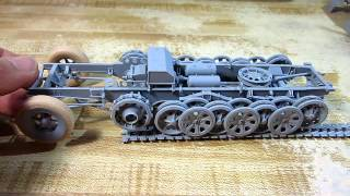 Building Dragon Sd.kfz.7 Eight Ton Half-track In 1/35 Scale Complete